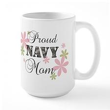 Navy Mom [fl camo] Mug
