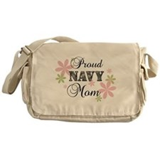 Navy Mom [fl camo] Messenger Bag