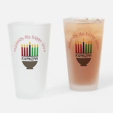 Happy Days Drinking Glass