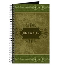 Blessed Be Vintage (Green) Journal