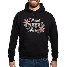 Navy Sister [fl camo] Hoodie