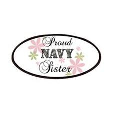 Navy Sister [fl camo] Patches