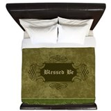 Wicca blessed be King Duvet Covers