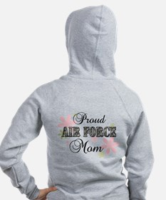 Air Force Mom [fl camo] Zipped Hoody