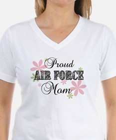 Air Force Mom [fl camo] Shirt