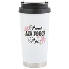Air Force Mom [fl camo] Travel Coffee Mug
