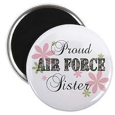 Air Force Sister [fl camo] Magnet