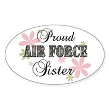 Air Force Sister [fl camo] Decal
