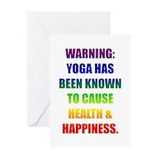 Rainbow Warning Greeting Card