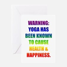 Rainbow Warning Greeting Card