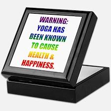 Rainbow Warning Keepsake Box