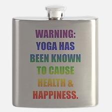 Rainbow Warning Flask