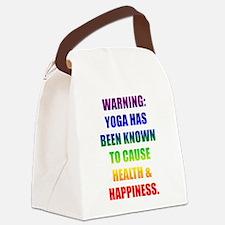 Rainbow Warning Canvas Lunch Bag