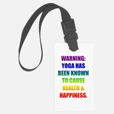 Rainbow Warning Luggage Tag