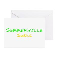 Summerville Sucks Greeting Cards (Pk of 10)