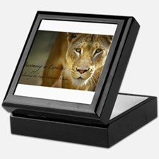 Cute Lioness Keepsake Box