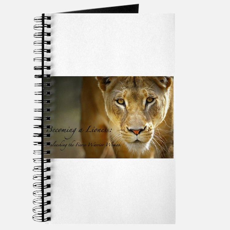 Cute Lioness Journal