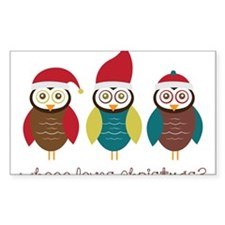 Who Loves Christmas? Decal
