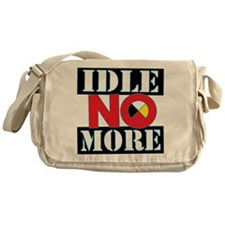 IDLE NO MORE Messenger Bag
