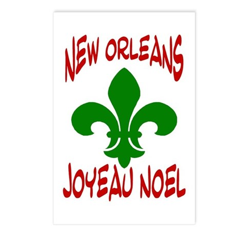 Nola Christmas French Postcards (Package of 8)