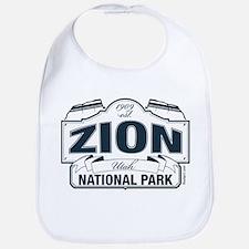 Zion National Park Blue Sign Bib