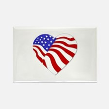 Heart of America Rectangle Magnet