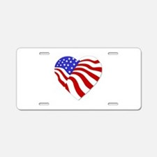 Heart of America Aluminum License Plate