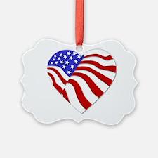 Heart of America Ornament