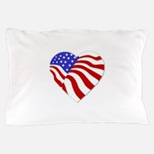 Heart of America Pillow Case