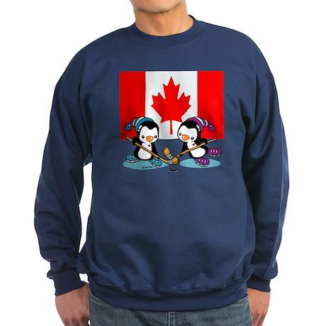 Canada Ice Hockey Penguins Sweatshirt (dark)