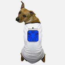BLUE Rhythmic MONKEY Dog T-Shirt