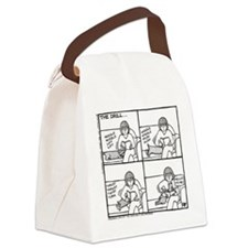 The Drill - Canvas Lunch Bag