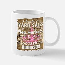 Thrift Store Junkie Mug