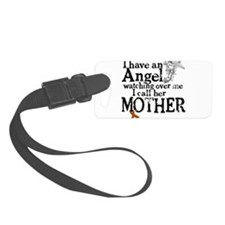 12-mother angel.png Luggage Tag