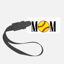 SOftball mom copy.png Luggage Tag
