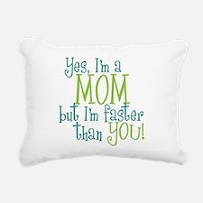 faster than you copy.png Rectangular Canvas Pillow