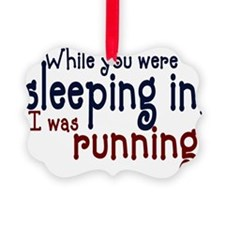 sleepin in copy.png Picture Ornament