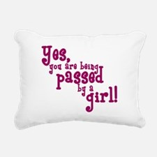 passed by girl copy.png Rectangular Canvas Pillow