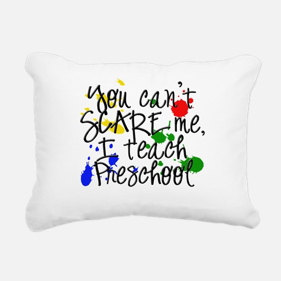 Preschool Scare copy.png Rectangular Canvas Pillow
