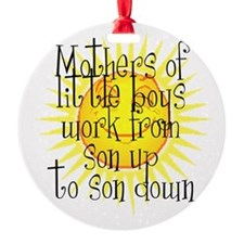 son up shirt 2 copy.jpg Ornament