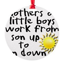son up shirt 3 copy.jpg Ornament