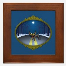 Northern Chihuahua Framed Tile