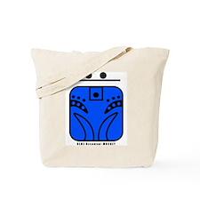 BLUE Resonant MONKEY Tote Bag