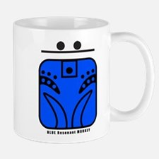 BLUE Resonant MONKEY Mug