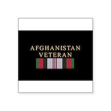Afghanistan Veteran Rectangle Sticker