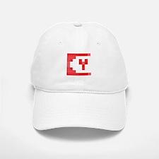 Cute Yeti Network Emblem (Red) Baseball Baseball Baseball Cap