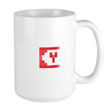 Cute Yeti Network Emblem (Red) Mug