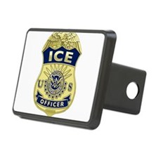 ICE Officer badge Hitch Cover