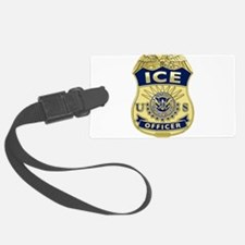ICE Officer badge Luggage Tag