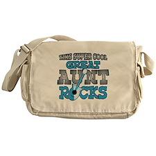 Great Aunt Rocks Messenger Bag